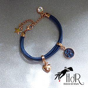 bracelet en cuir moonlight hdr