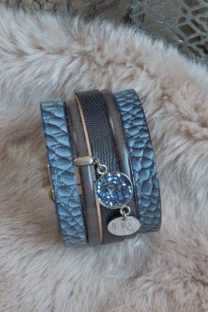 manchette blue