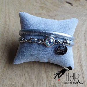bracelet Aurélie argent