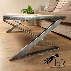 table basse vintage modern