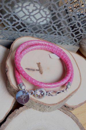 bracelet aureli serpent rose